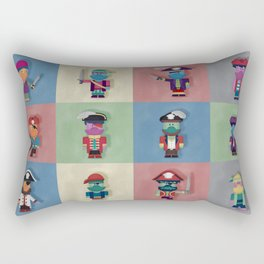 Buccaneers Monstris Rectangular Pillow