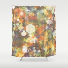 Bitmap #2 Shower Curtain