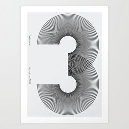 Nº3 Art Print