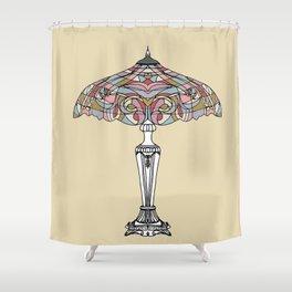 Vintage lamp Shower Curtain
