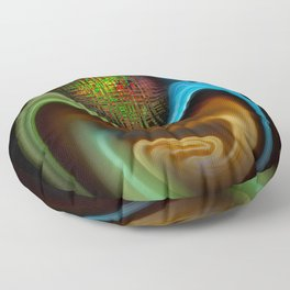 Abstract Perfektion 90 Floor Pillow