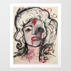 Dead Marilyn Art Print