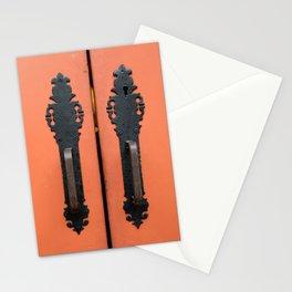 Orange Door Handles Stationery Cards