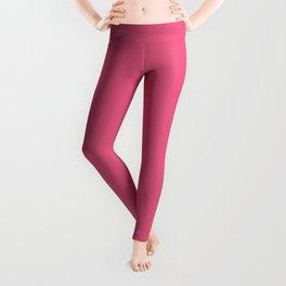 Solid Color - Pantone Hot Pink 17-1937 Leggings