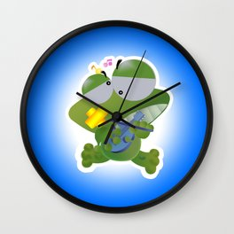 Keropi Wall Clock
