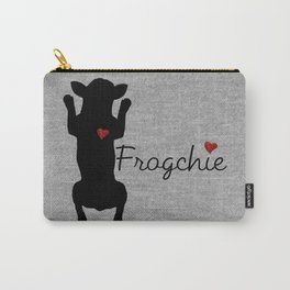 Frogchie French Bulldog Carry-All Pouch