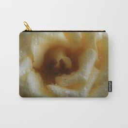 Toffee Rose Carry-All Pouch