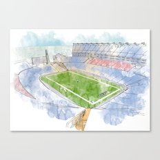Gillette Stadium Canvas Print