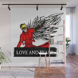love and peace Wall Mural