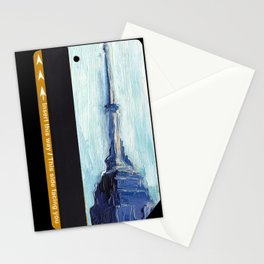 Subway Card Empire State Building No. 1 Stationery Cards