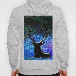 Deer Season Blue Night Sky Hoody