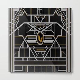 Art Deco in G Metal Print