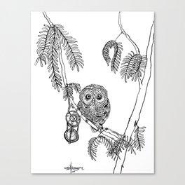 Owl Hour Canvas Print