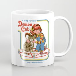 Caring for your Demon Cat Coffee Mug