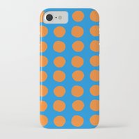 polka iPhone & iPod Cases featuring Polka  by Ruth Shaffer Art and Designs