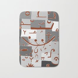 Paul Klee Inspired - The Nile #2 Bath Mat
