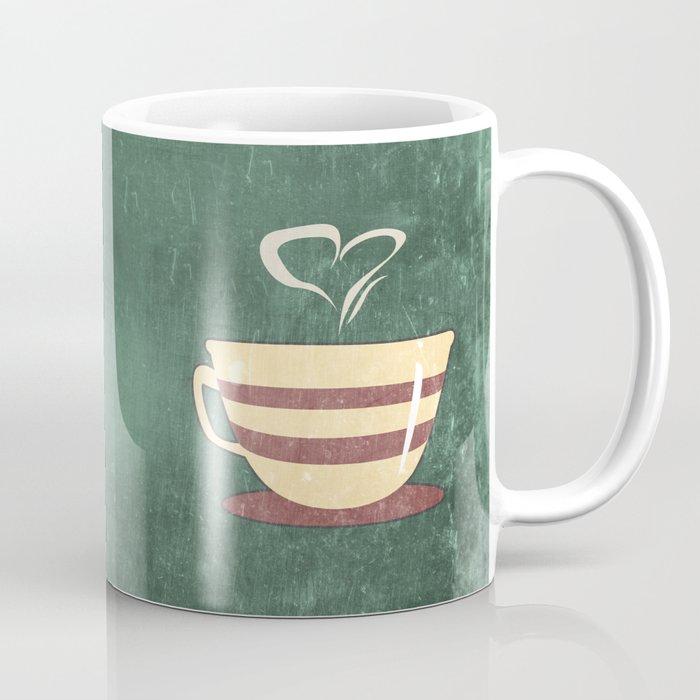 Coffee is love illustration Coffee Mug