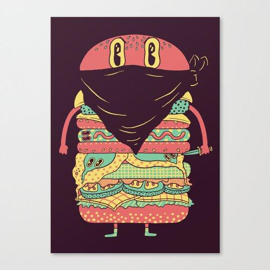 McRobber Canvas Print