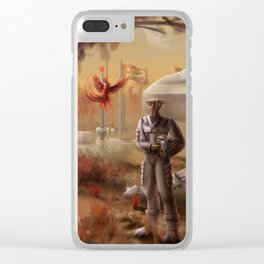 New Discovery Clear iPhone Case