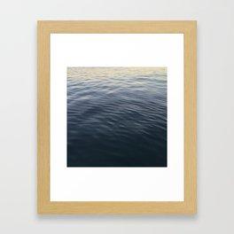 Pacific Gradient Framed Art Print