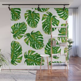 Guatemala - Monstera Deliciosa Jungle Wall Mural
