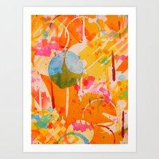 focal  Art Print