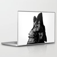 howl Laptop & iPad Skins featuring Howl by Victoria-Samantha