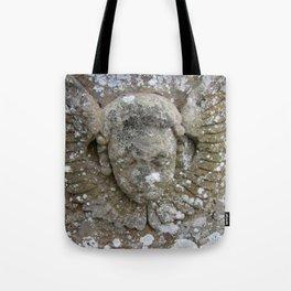 Stone Angel Tote Bag