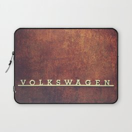 VW Rust Laptop Sleeve
