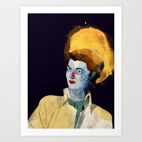 wasted rita Art Prints featuring Rita by Alvaro Tapia Hidalgo