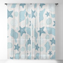 SHELL - Shore Sheer Curtain