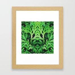 50 Shades of Green (4) Framed Art Print