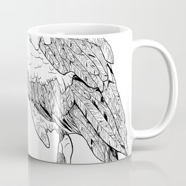 Stork illustration Coffee Mug