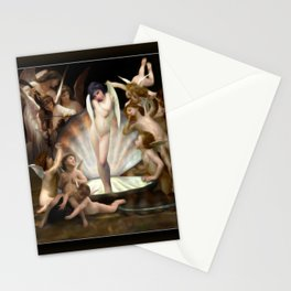 Bouguereau's Angels Surround Cupid Stationery Cards