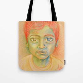enfant d'Inde Tote Bag