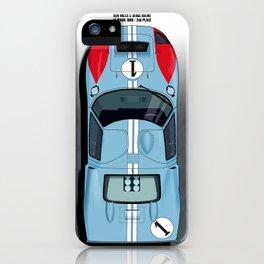 Ken Miles, Denis Hulme GT40, Le Mans 2nd 1966 iPhone Case