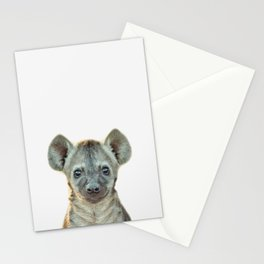 Baby Hyena Stationery Cards