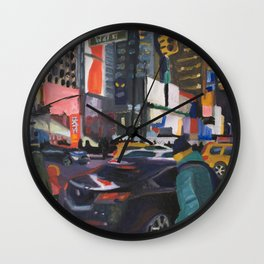 Downtown Flow Wall Clock