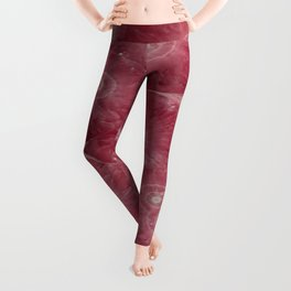 Heart Shape Stone Art Leggings