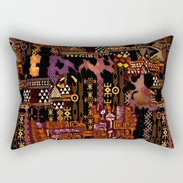 Ethno-jazz Rectangular Pillow
