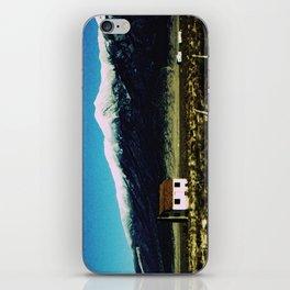 i live here iPhone Skin