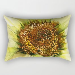 Daisy Disc Florets Rectangular Pillow