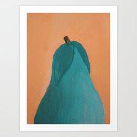 pear Art Prints featuring Pear by seekmynebula
