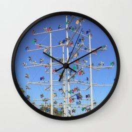 Windmill Roundabout Benalmadena Wall Clock