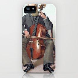 violoncelliste musicien iPhone Case