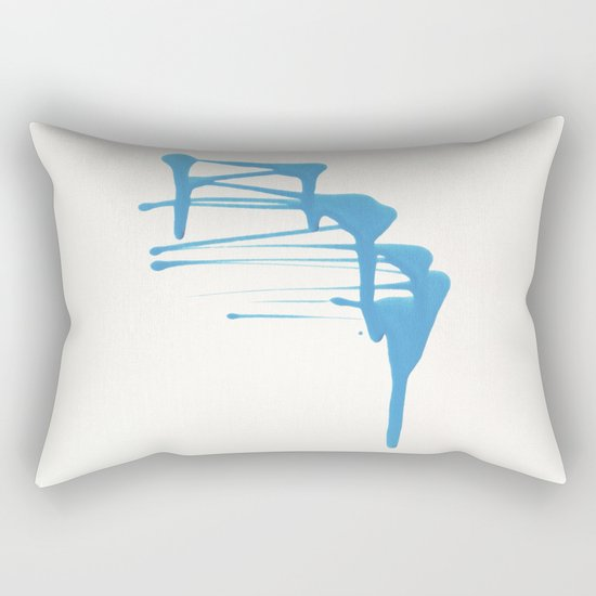 color 1 Rectangular Pillow