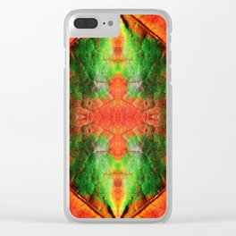 Autumn leaf 1 Clear iPhone Case