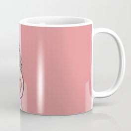 cute and lovely girl for valentine's day Coffee Mug