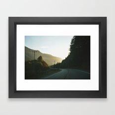 Island Highway Framed Art Print