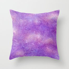 Violet Charoite Mineral Throw Pillow
